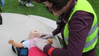pierwsza pomoc resuscytacja dziecka, BLS dziecka, masaż serca