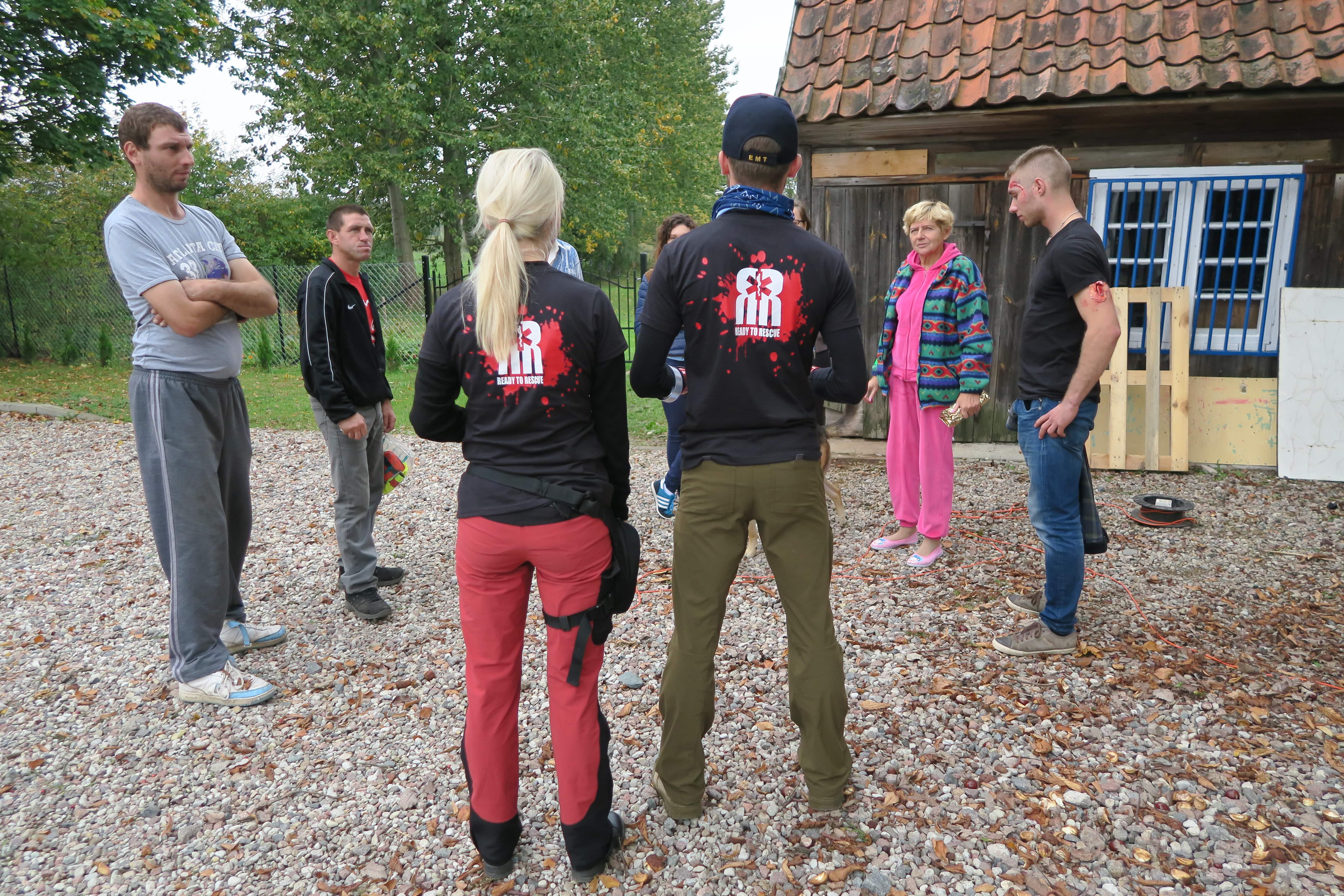 21.szkolenie z pierwszej pomocy dla osób starszych, Ready2Rescue Team