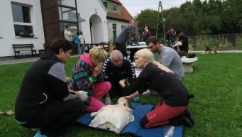pierwsza pomoc w grupie, 7Niebo Piotraszewo, aktywna pierwsza pomoc