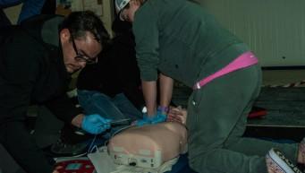 pierwsza pomoc BLS+AED, resuscytacja krążeniowo – oddechowa, fantomy