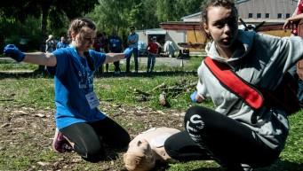 RKO, resuscytacja, BLS+AED, dzieci pierwsza pomoc, zawody medyczne