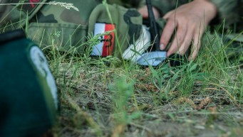 aktywna pierwsza pomoc, jednostka strzelecka olecko, staza taktyczna