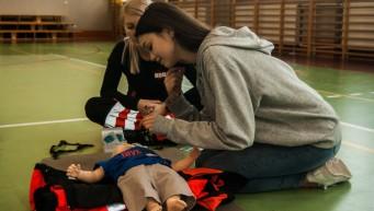 RKO, dziecko, nie oddycha, BLS dziecka